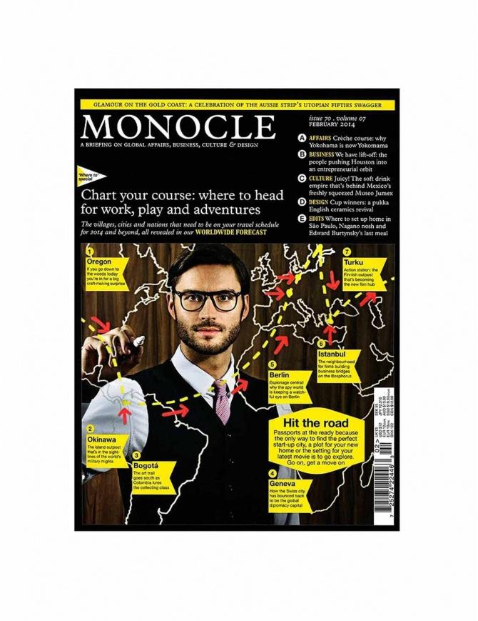 Monocle numero 70, febbraio 2014 MONOCLE-70-V riviste online shopping