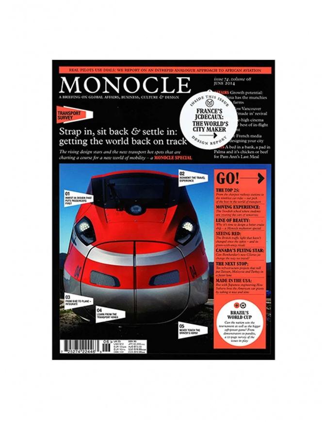 Monocle numero 74, giugno 2014 MONOCLE-74-V riviste online shopping