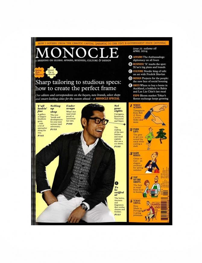 Monocle numero 72, aprile 2014 MONOCLE-72-V riviste online shopping