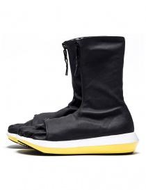 Stivaletto Arthur Arbesser per Vibram modello Damiel colore nero/giallo