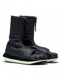 Arthur Arbesser for Vibram ankle boots style Damiel black/mint color A17A101-ZIP-BLK-BLK-MINT