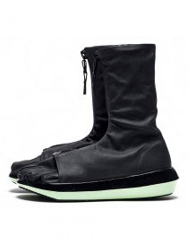 Arthur Arbesser for Vibram ankle boots style Damiel black/mint color