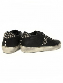 Leather Crown Iconic women's black sneakers price