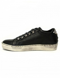 Leather Crown Iconic women's black sneakers