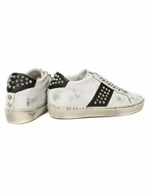 Sneakers Leather Crown Iconic bianca/nera da donna prezzo