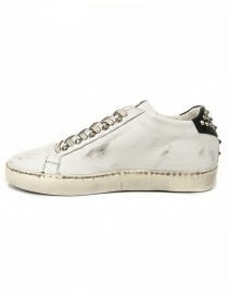 Leather Crown Iconic women's white/black sneakers buy online