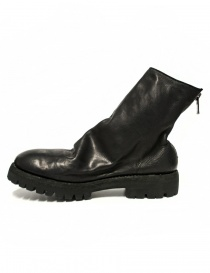Guidi 796V black baby calf leather ankle boots
