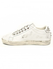 Leather Crown Iconic men's white sneakers