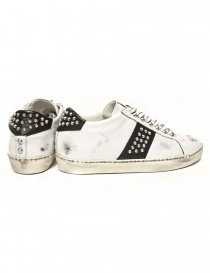 Leather Crown Iconic men's white/black sneakers price