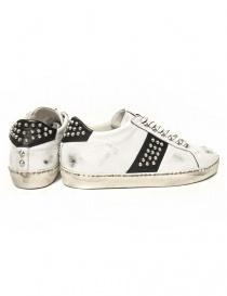 Sneakers Leather Crown Iconic bianca/nera da uomo prezzo