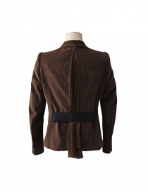 Kolor jacket in brown colour buy online