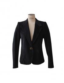 Kolor blue velvet pied de poule suit online