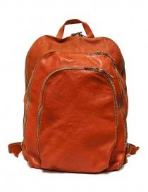 Borse online: Zaino Guidi DBP04 in pelle colore arancione
