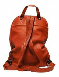 Guidi DBP04 orange leather backpack price