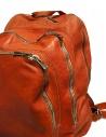 Zaino Guidi DBP04 in pelle colore arancione DBP04 SOFT HORSE B.PACK CV21T acquista online