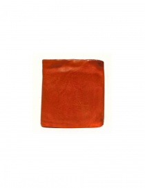 Guidi + Barny Nakhle B7 orange leather wallet B7-SOFT-HORSE-FG-WAL