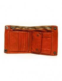 Portafoglio Guidi + Barny Nakhle B7 in pelle arancione prezzo