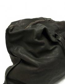 Borsa Guidi SA04 in pelle colore grigio scuro prezzo