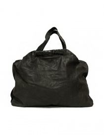 Bags online: Guidi SA04 dark grey color leather bag
