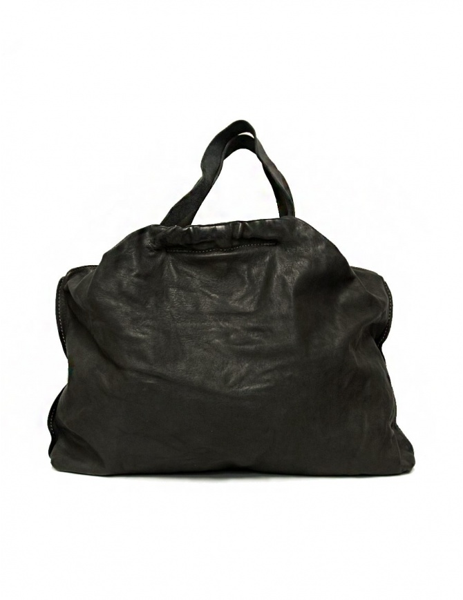 Guidi SA04 dark grey color leather bag SA04-SOFT-HORSE-FG-CV37T bags online shopping