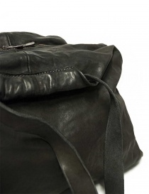 Guidi SA04 dark grey color leather bag bags buy online