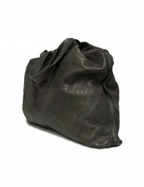 Borsa Guidi SA04 in pelle colore grigio scuro acquista online