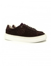 Be Positive Anniversary burgundy sneakers online