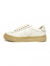 Be Positive Anniversary white and beige sneakers