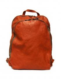 Zaino Guidi DBP06 in pelle colore arancione DBP06-SOFT-HORSE--CV21T