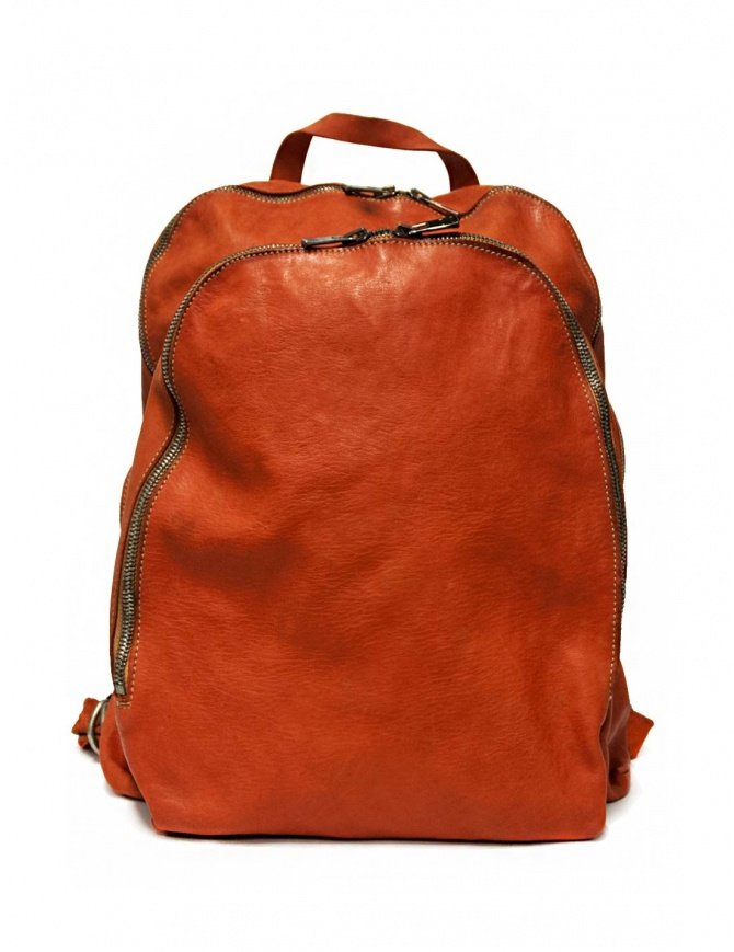 Guidi DBP06 orange leather backpack DBP06-SOFT-HORSE--CV21T bags online shopping