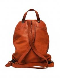 Zaino Guidi DBP06 in pelle colore arancione prezzo