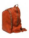 Zaino Guidi DBP06 in pelle colore arancioneshop online borse