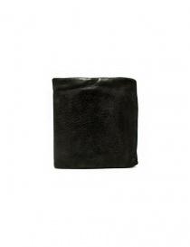 Guidi + Barny Nakhle B7 dark grey leather wallet B7-SOFT-HORSE-FG-WAL-CV37T