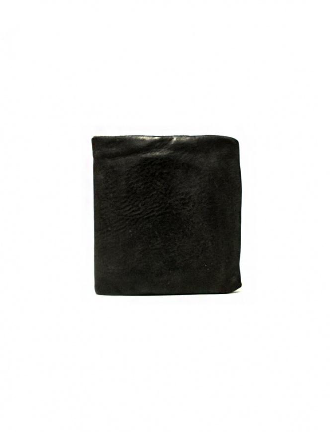 Portafoglio Guidi + Barny Nakhle B7 in pelle grigio scuro B7-SOFT-HORSE-FG-WAL-CV37T portafogli online shopping