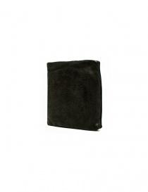 Portafoglio Guidi + Barny Nakhle B7 in pelle grigio scuro acquista online