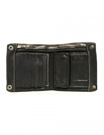 Guidi + Barny Nakhle B7 dark grey leather wallet price