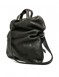 Guidi + Barny Nakhle B1 dark grey color leather bag buy online
