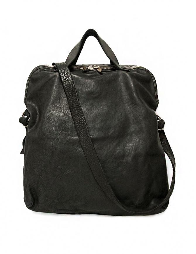 Borsa Guidi + Barny Nakhle B1 in pelle colore grigio scuro B1-SOFT-HORSE-FG-CV37T borse online shopping