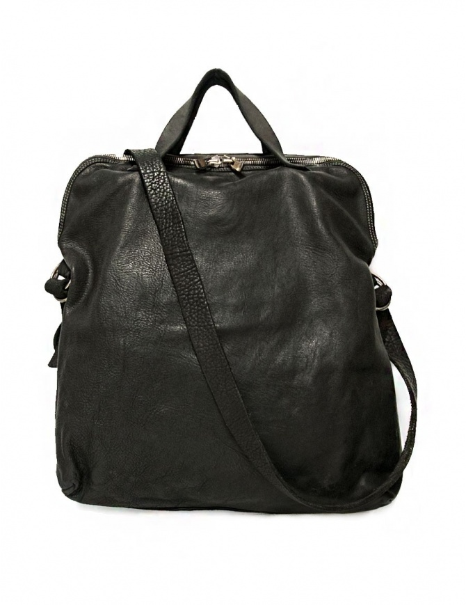 Guidi + Barny Nakhle B1 dark grey color leather bag B1-SOFT-HORSE-FG-CV37T bags online shopping