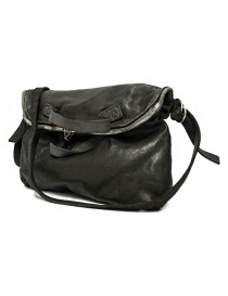 Guidi + Barny Nakhle B1 dark grey color leather bag price