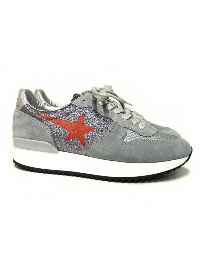 Sneaker Golden Goose Haus con glitter W31WS364-C6-31HV calzature donna online shopping