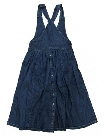 Kapital denim overalls dress