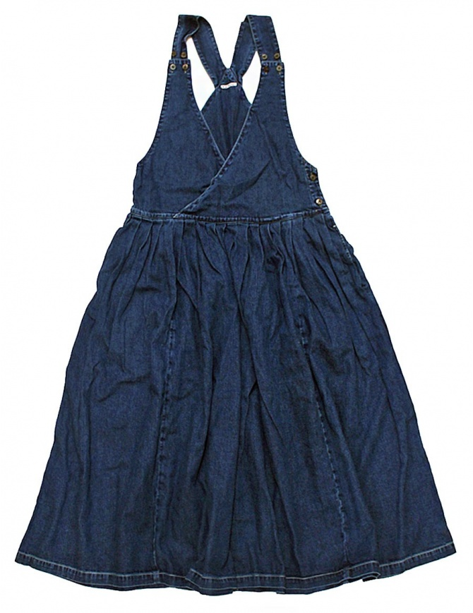 Kapital denim overalls dress EK256 SKIRT IDG womens dresses online shopping