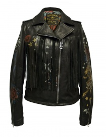 Rude Riders fringe leather jacket P95450-22176 order online