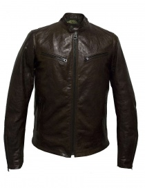 Rude Riders brown leather jacket P94505-24128 order online