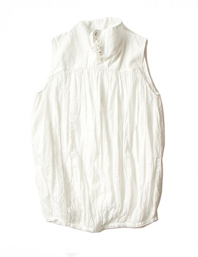 Kapital sleeveless white shirt K1704SS187-SHIRT-WHT womens shirts online shopping