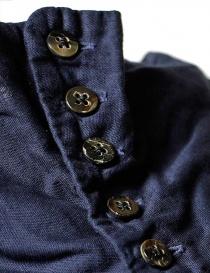 Camicia smanicata Kapital colore blu prezzo