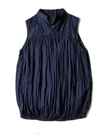 Kapital sleeveless blue shirt online