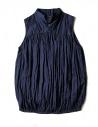 Camicia smanicata Kapital colore blu acquista online K1704SS187-SHIRT-NAVY