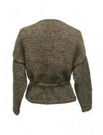 Hiromi Tsuyoshi green wool cardigan buy online